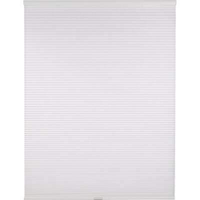 Home Impressions 1 In. Light Filtering Cellular White 48 In. x 72 In. Cordless Shade