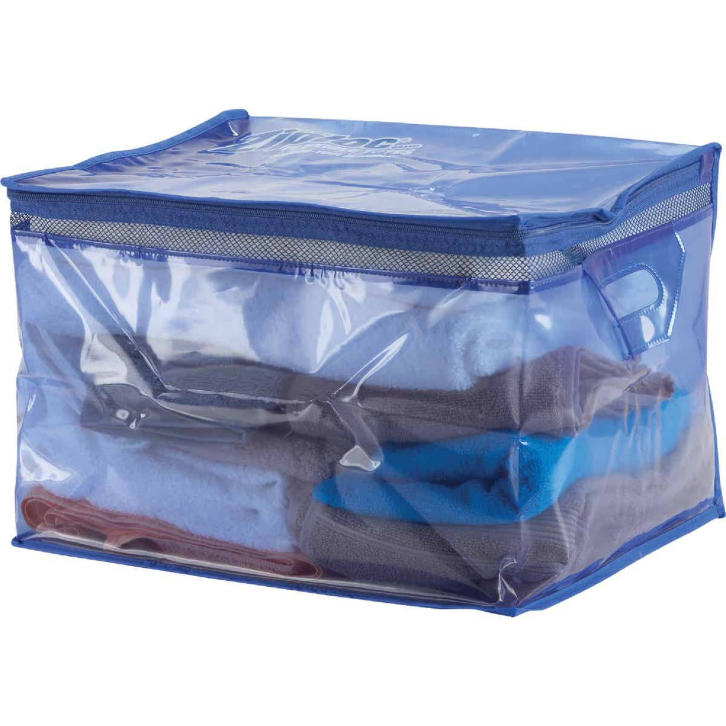 Ziploc Flexible XL 10 Gallon Heavy Duty Clothes Storage Bag Tote Image 3