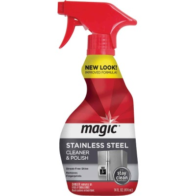 Weiman Magic 14 Oz. Stainless Steel Cleaner & Polish