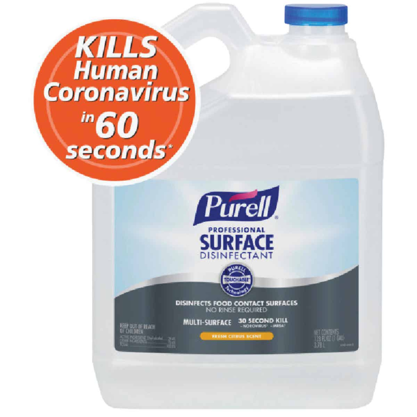 Purell 1 Gal. Professional Surface Disinfectant Cleaner Refill Image 1