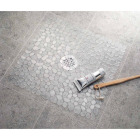 InterDesign Pebblz 22 In. Square Shower Mat Image 2