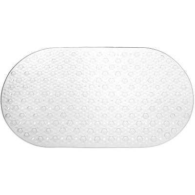 iDesign Circlz 27 In. Suction Shower Mat