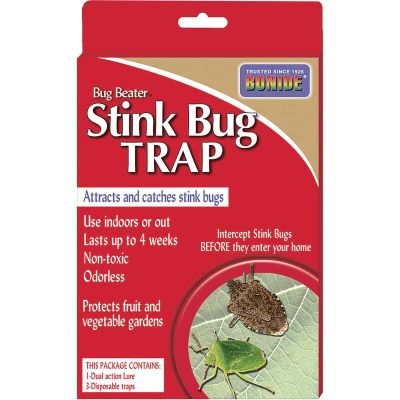 Bonide Bug Beater Disposable Indoor/Outdoor 50 Ft. Coverage Area Stink Bug Trap