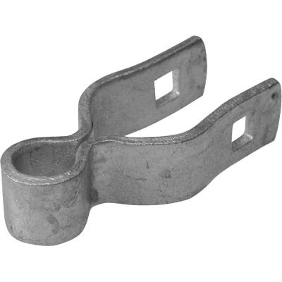Midwest Air Tech 1-3/8 in. x 5/8 in. Steel Chain Link Gate Hinge Clamp