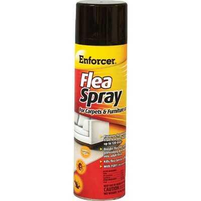 Enforcer 14 Oz. Aerosol Spray Tick & Flea Killer For Carpets And Furniture