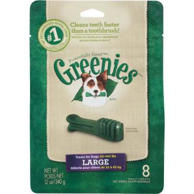Greenies Large Dog Original Flavor Dental Dog Treat (8-Pack)