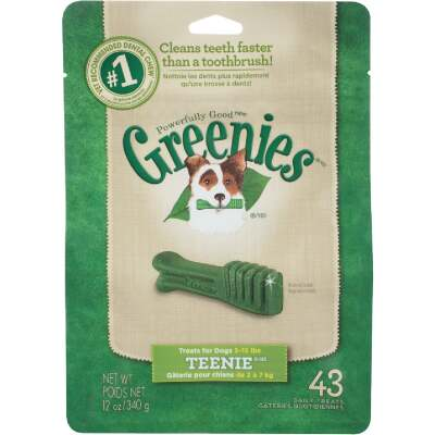 Greenies Teenie Toy Dog Original Flavor Dental Dog Treat (43-Pack)
