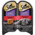 Sheba Perfect Portions Pate 2.6 Oz. Adult Tender Beef Wet Cat Food Image 1
