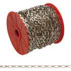 Campbell #2 164 Ft. Chrome-Plated Low-Carbon Steel Coil Chain Image 1