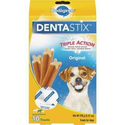 Pedigree Dentastix Small/Medium Dog Original Flavor Dental Dog Treat (10-Pack)