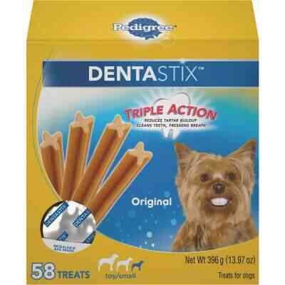 Pedigree Dentastix Toy Dog Original Flavor Dental Dog Treat (58-Pack)