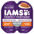 Iams Perfect Portions Healthy Kitten 2.6 Oz. Chicken Flavor Wet Kitten Food Image 1