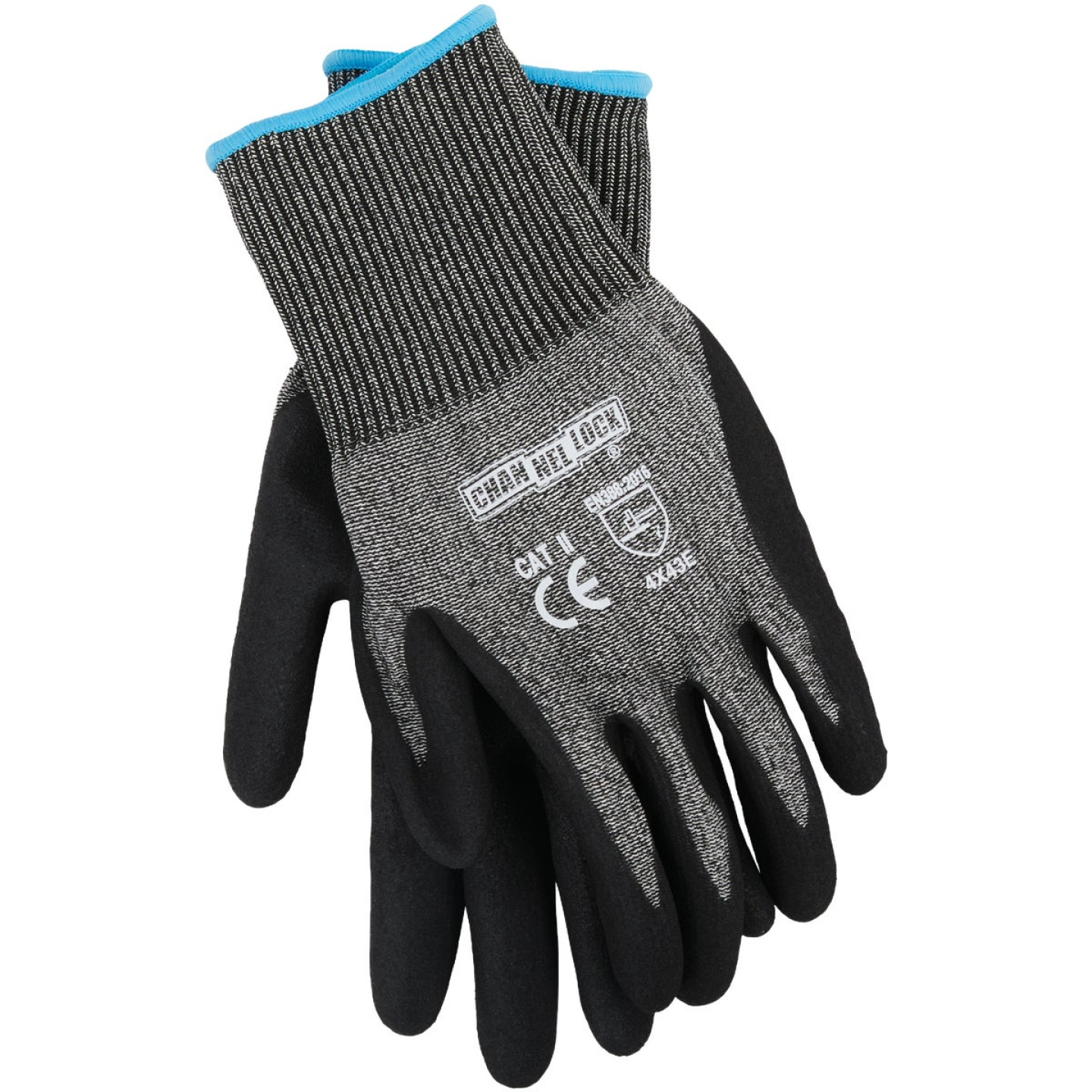 Channellock Men's Large Nitrile Dipped Cut 5 Glove Image 1