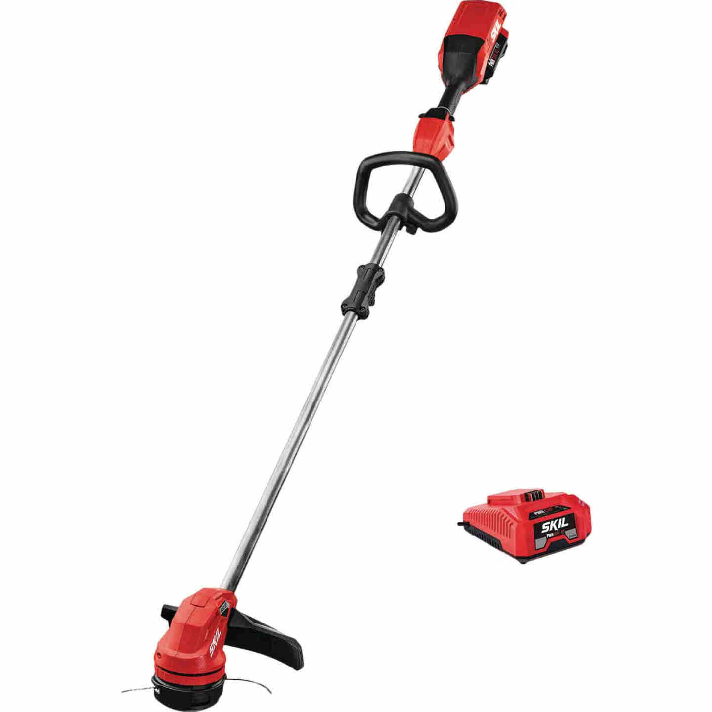 SKIL PWRCore 40V Brushless 14 In. String Trimmer Kit with Twist Load and AutoPWRJump Charger Image 1