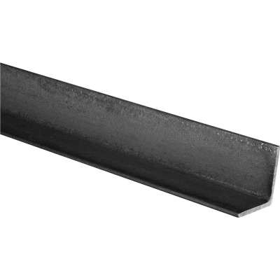 HILLMAN Steelworks Plain 1 In. x 6 Ft., 1/8 In. Weldable Solid Angle