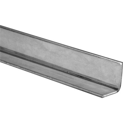 HILLMAN Steelworks Galvanized 1-1/4 In. x 1-1/4 Ft. Solid Angle