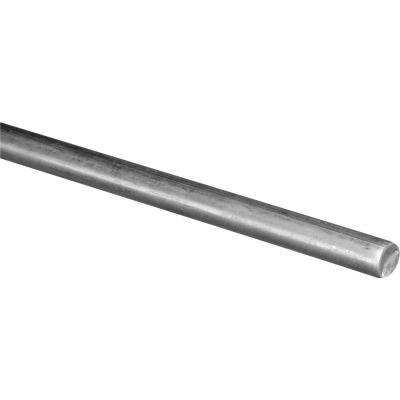 Hillman Steelworks Steel 1/4 In. X 6 Ft. Solid Rod