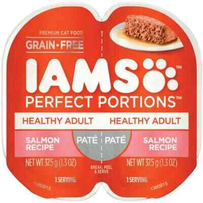 Iams Perfect Portions Healthy Adult 2.6 Oz. Salmon Flavor Adult Wet Cat Food