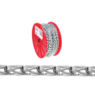 Campbell #35 100 Ft. Zinc-Plated Low-Carbon Steel Coil Chain