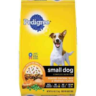 Pedigree Small Dog Complete Nutrition 15.9 Lb. Roasted Chicken, Rice, & Vegetable Adult Dry Dog Food
