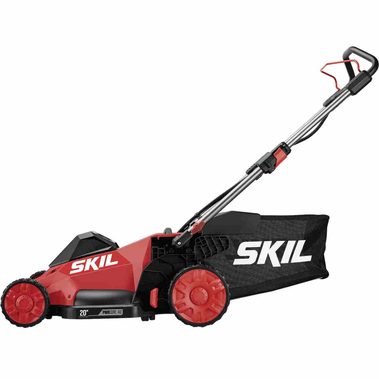 SKIL PWRCore 40V Brushless Self-Propelled Mower Kit and AutoPWRJump Charger Image 1