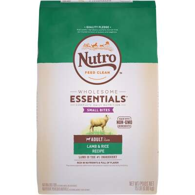 Nutro Wholesome Essentials Small Bite 12 Lb. Lamb & Rice Adult Dry Dog Food