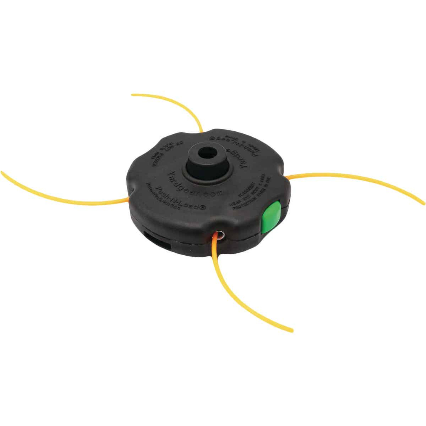 Shakespeare Push-N-Load 4-Line Replacement Trimmer Head Image 1