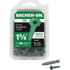 Buildex Backer-On #10 x 1-5/8 In. Cement Board Screw (140 Ct.) Image 1