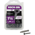 Buildex Rock-On #9 x 1-5/8 In. Philips Cement Board Screw (140 Ct.) Image 1