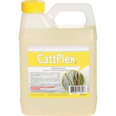 Catt Plex 1 Qt. Liquid 1/4-Acre Coverage Area Aquatic Herbicide