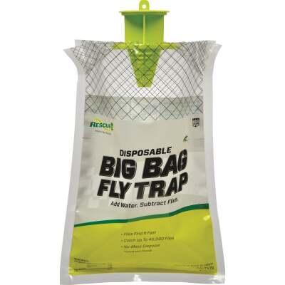Rescue Big Bag Disposable Outdoor Fly Trap