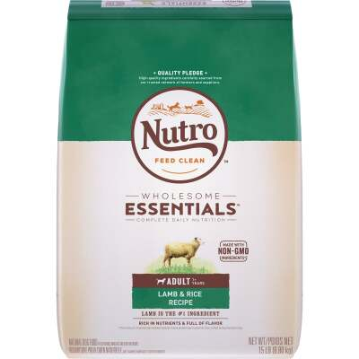 Nutro Wholesome Essentials 12 Lb. Lamb & Rice Adult Dry Dog Food