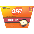 OFF! 18 Oz. 1-Wick Tabletop Citronella Candle Image 1