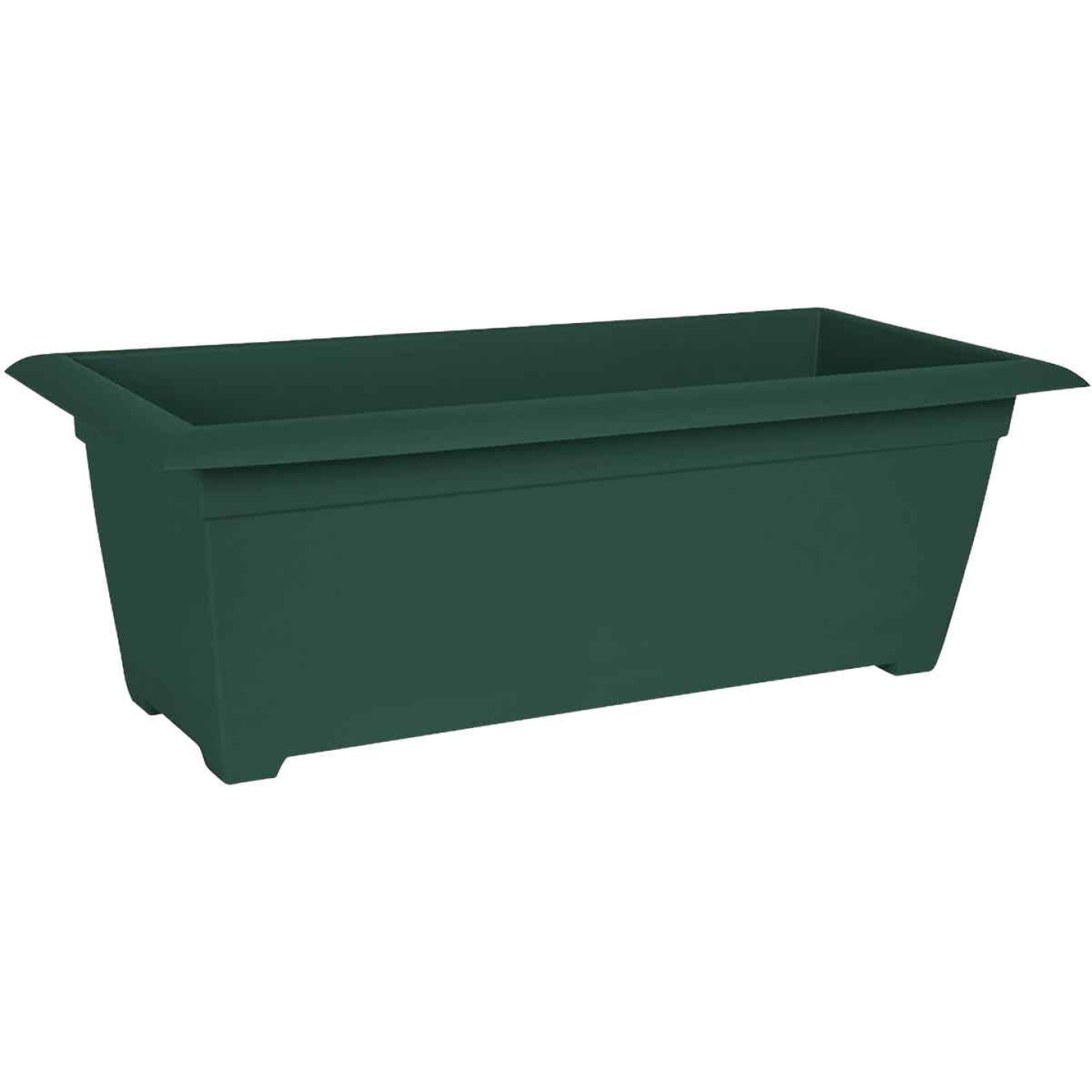 Bloem Ocean Series Dayton 27 In. W. x 9.38 In. H. Recycled Ocean Plastic Turtle Green Deck Box Image 1