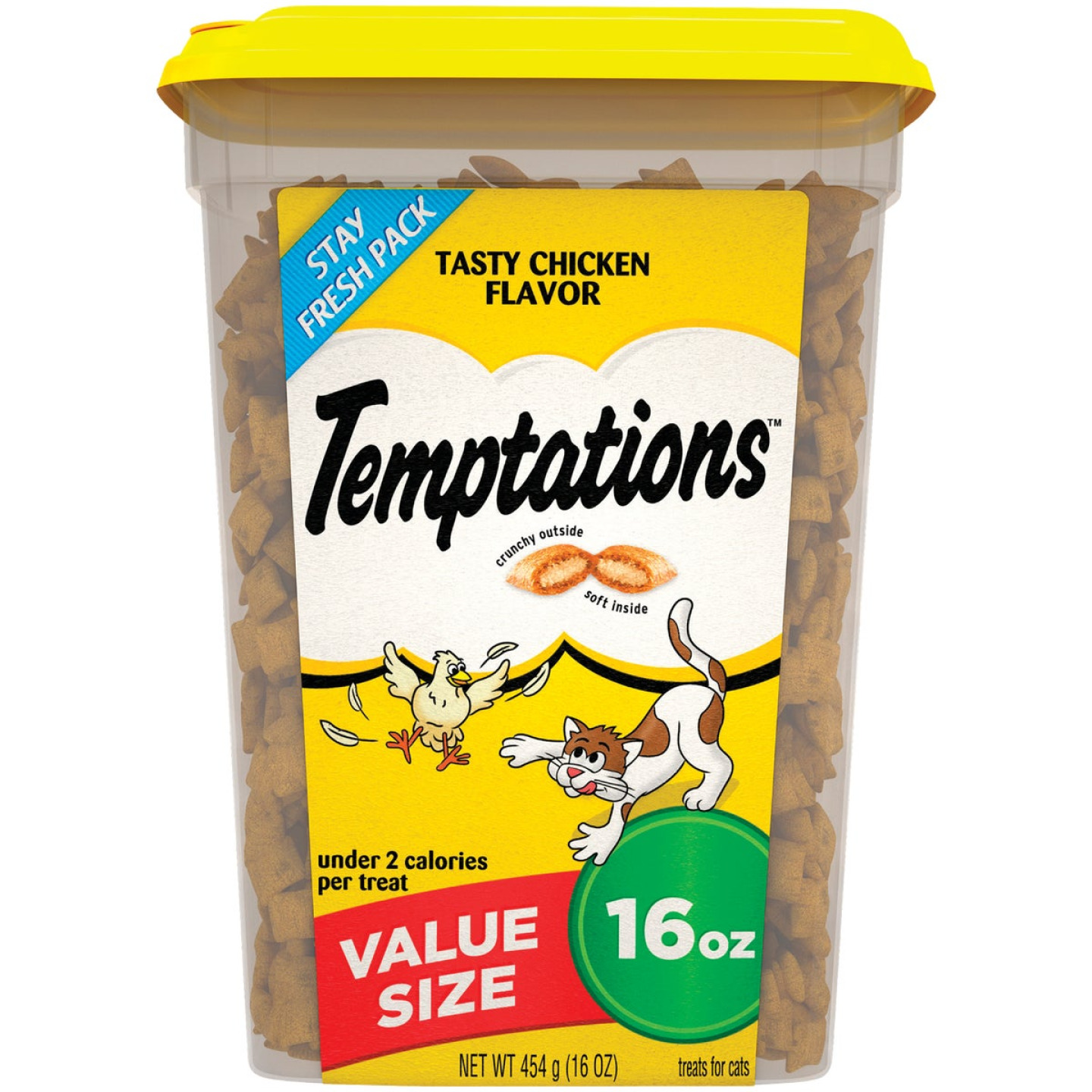Temptations Tasty Chicken 16 Oz. Cat Treats Image 1
