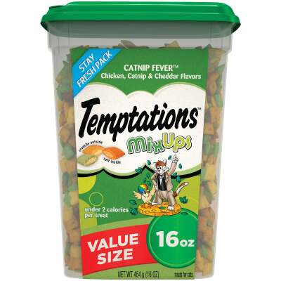 Temptations Mix Ups Catnip Fever 16 Oz. Cat Treats