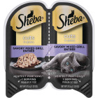 Sheba Perfect Portions Cuts in Gravy 2.6 Oz. Savory Mixed Grill Adult Wet Cat Food Image 1