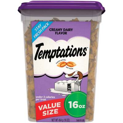 Temptations Creamy Dairy 16 Oz. Cat Treats