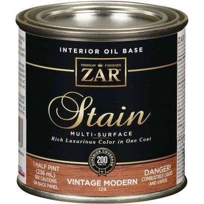 ZAR Oil-Based Wood Stain, Vintage Modern, 1/2 Pt.