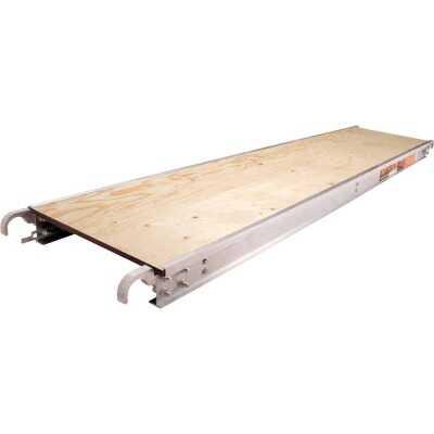 MetalTech 19 In. x 7 Ft. Aluminum Edge Scaffold Platform Deck