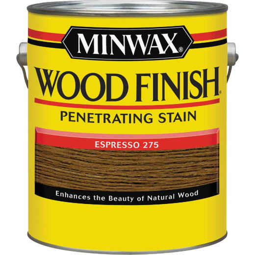 Minwax Wood Finish Penetrating Stain, Espresso, 1 Gal.