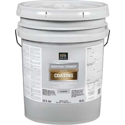 Do it Best Aluminum Alkyd Industrial Coating, 5 Gal.