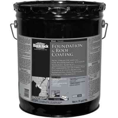 Black Jack 5 Gal. Non-Fibered Foundation and Roof Coating