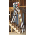 Werner 26 Ft. Aluminum Multi-Position Telescoping Ladder with 300 Lb. Load Capacity Type IA Ladder Rating Image 3