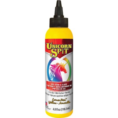 Unicorn Spit 4 Oz. Lemon Kiss Paint, Gel Stain & Glaze
