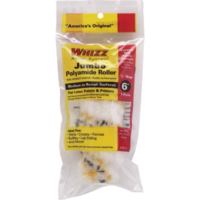 Whizz Premium Gold Stripe 6 In. x 1/2 In. Jumbo Woven Fabric Roller Cover