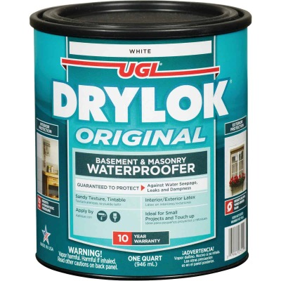 Drylok White Latex Masonry Waterproofer, 1 Qt.