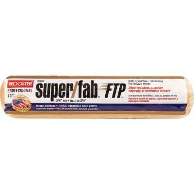 Wooster Super/Fab FTP 14 In. x 3/4 In. Knit Fabric Roller Cover