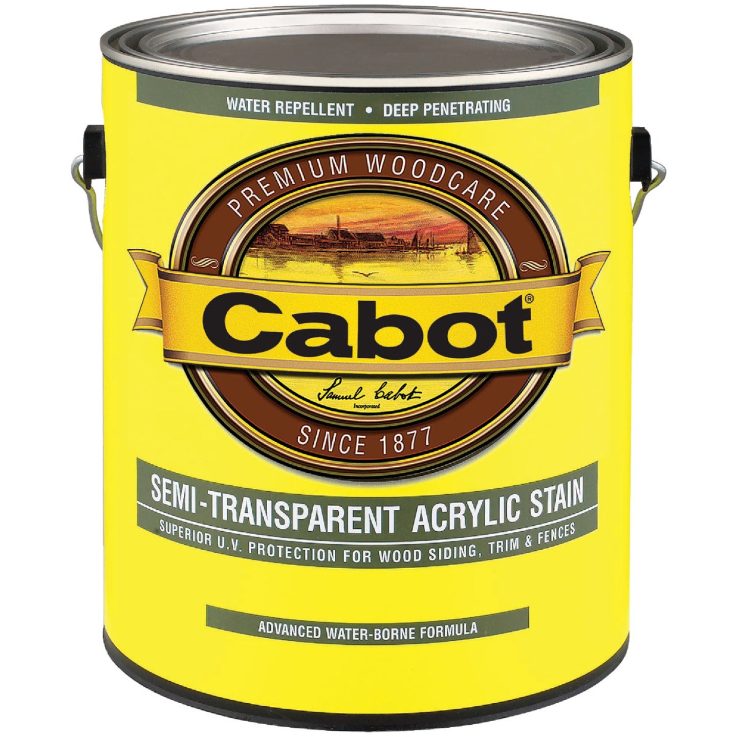 Cabot Semi-Transparent Exterior Stain, Neutral Base, 1 Gal. Image 1