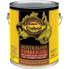 Cabot Australian Timber Oil Translucent Exterior Oil Finish, Mahogany Flame, 1 Gal. Image 1